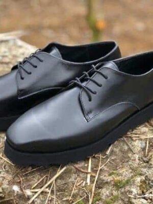 pantofi piele naturala clasic black2