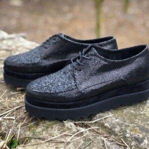 pantofi piele naturala glamour
