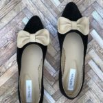 balerini piele naturala bow cream5