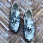 balerini piele naturala izabela silver
