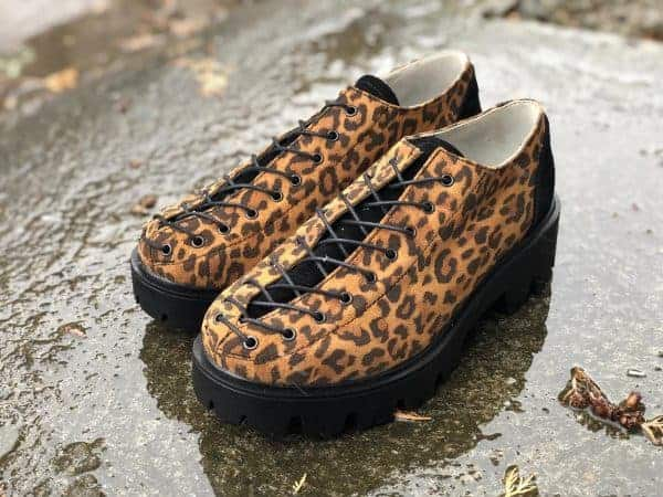 pantofi piele naturala nina animal print5