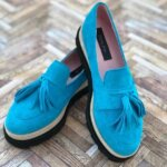 pantofi piele naturala summer