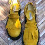 sandale piele naturala yellow2