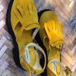 sandale piele naturala yellow5