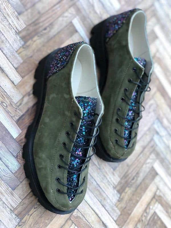 pantofi piele naturala nina green4