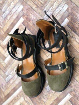 sandale piele naturala rock glamour army2