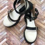 sandale piele naturala rock glamour biege4