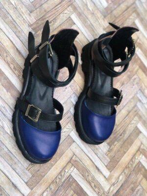 sandale piele naturala rock glamour electric box2
