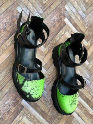 sandale piele naturala rock glamour electric box3 1