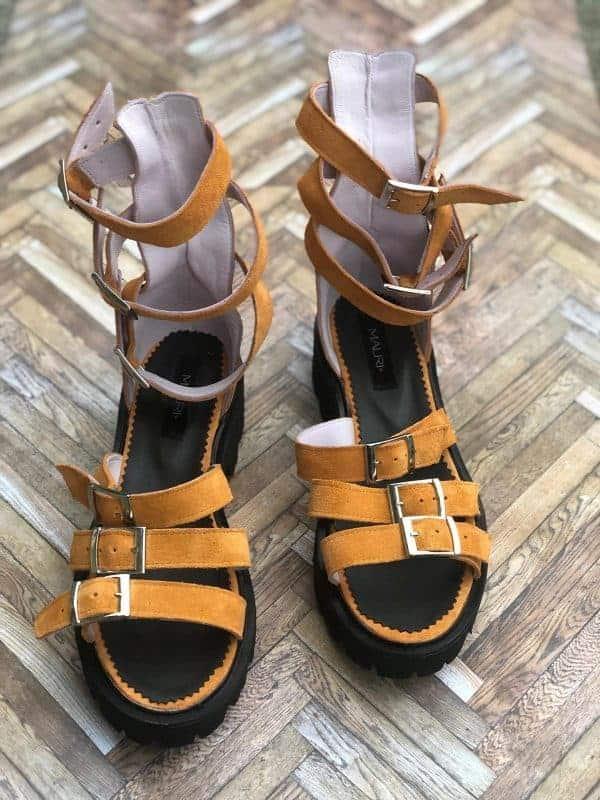 sandale piele naturala sparkle2