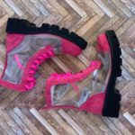 ghete piele naturala invisible pink4