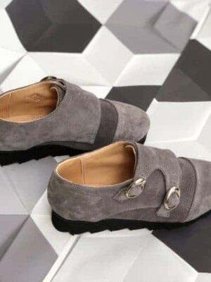 pantofi piele naturala ella grey