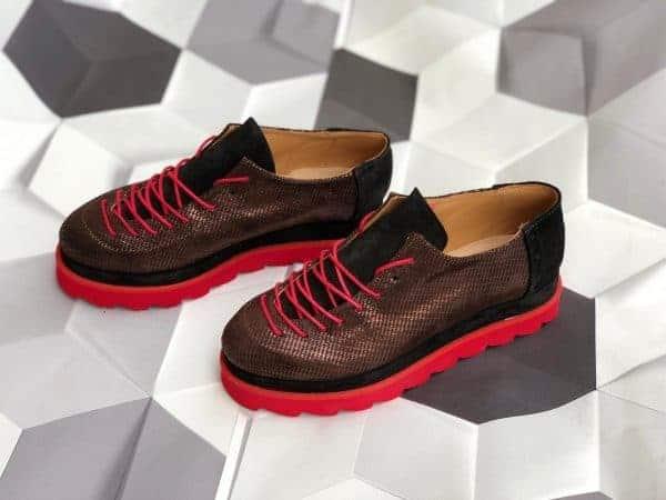 pantofi piele naturala haga5