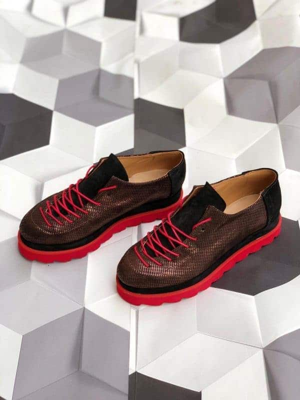 pantofi piele naturala haga6
