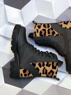 ghete piele naturala premium boots 3d 2