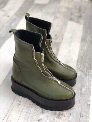 ghete piele naturala gia army