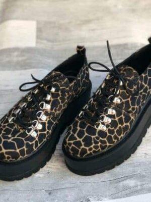 pantofi piele naturala isabel panther2