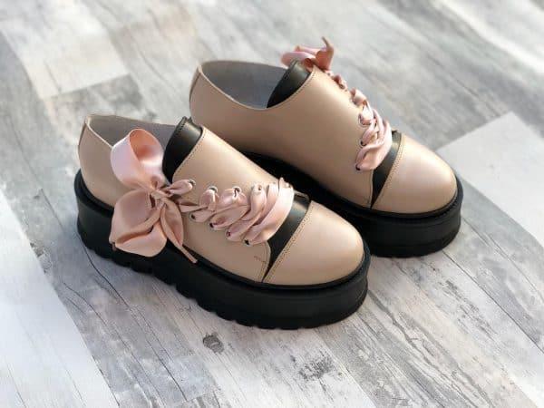 pantofi piele naturala juliet nude5