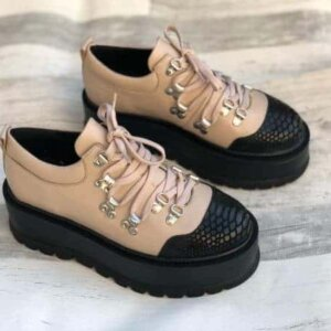 pantofi piele naturala manila