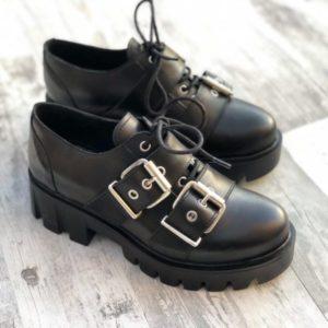 pantofi piele naturala ximena