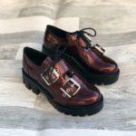 pantofi piele naturala ximena violet2