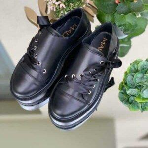 pantofi juliet all black piele naturala 4
