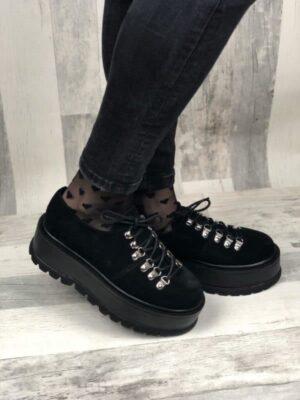 pantofi piele naturala isabel black2