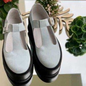 pantofi piele naturala riona