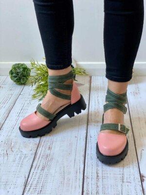 pantofi piele naturala rock glamour fruit love (3)