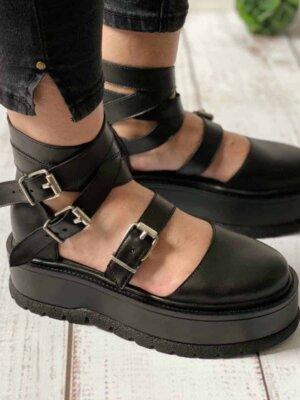 pantofi din piele naturala kayla