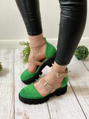 pantofi piele naturala luiza jade
