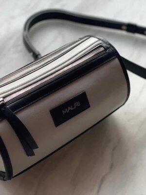 geanta din piele naturala mauri grey