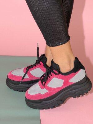 Sneakers-piele-naturala-raquel-pink-1