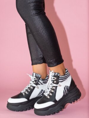 Sneakers-piele-naturala-alice-black&white-4