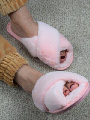 Papuci-casa-blana-rose-6