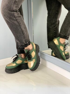 Sneakers-piele-naturala-raquel-cactus-green (5)