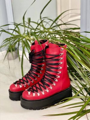 ghete-piele-naturala-rosie-red (13)