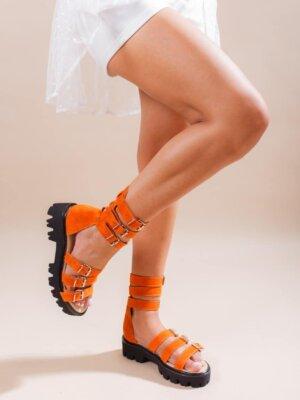 sandale-din-piele-naturala-sparkle-orange (2)